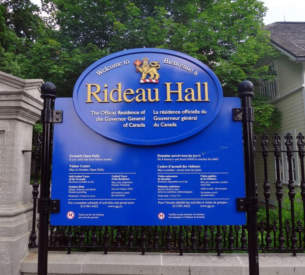 Walking in Ottawa (2): Rideau Hall (1/6)