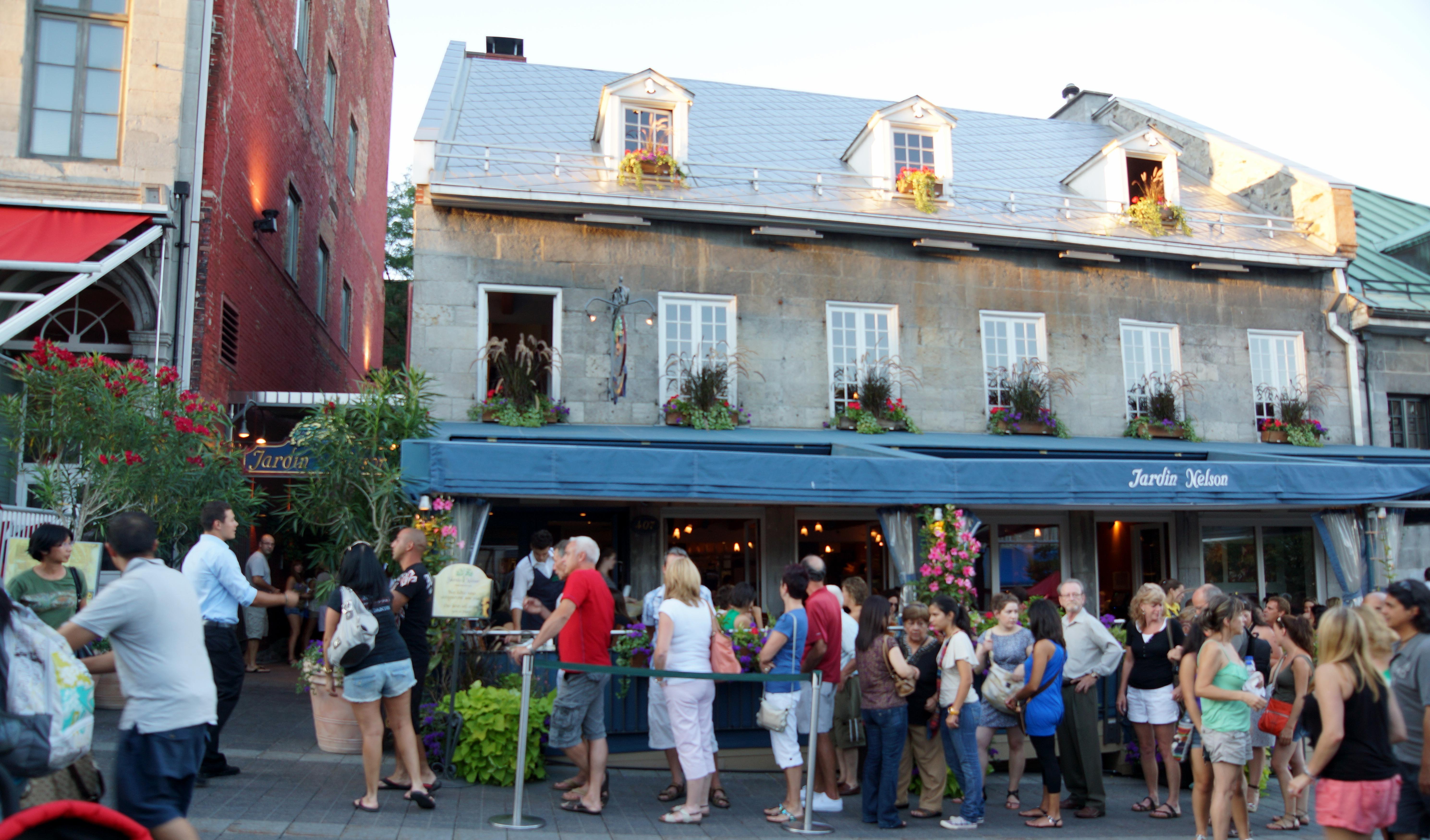 Montreal jardin nelson for repas opallaontrails for Restaurant jardin montreal