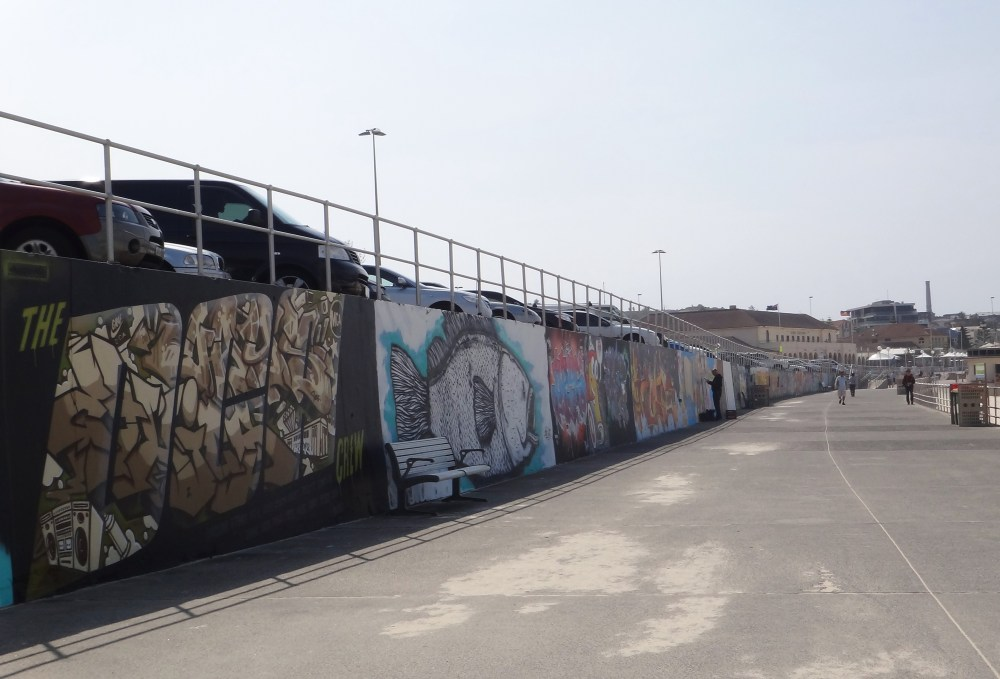 Graffiti Art at Bondi Beach, Australia (1/6)