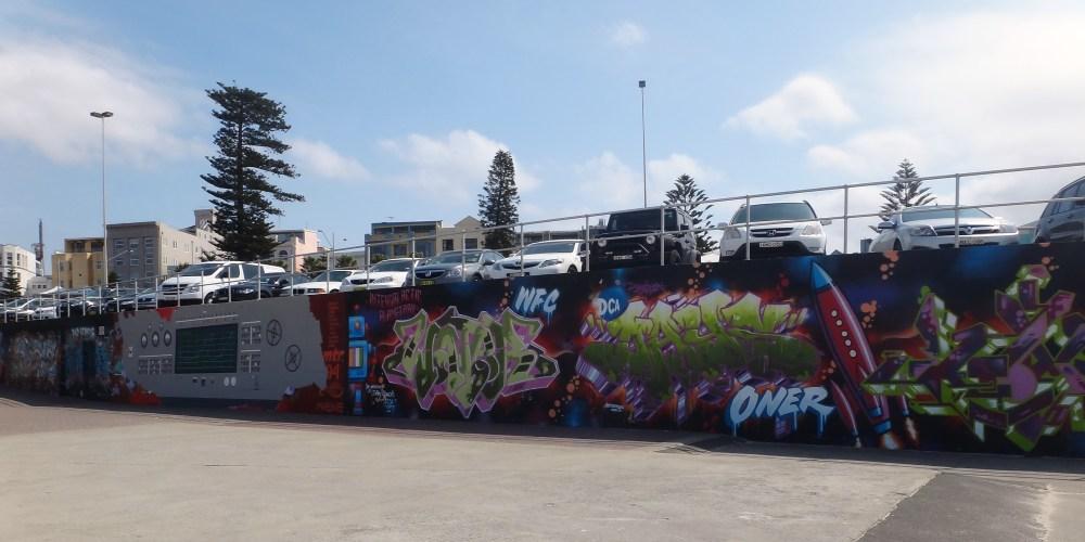 Graffiti Art at Bondi Beach, Australia (2/6)
