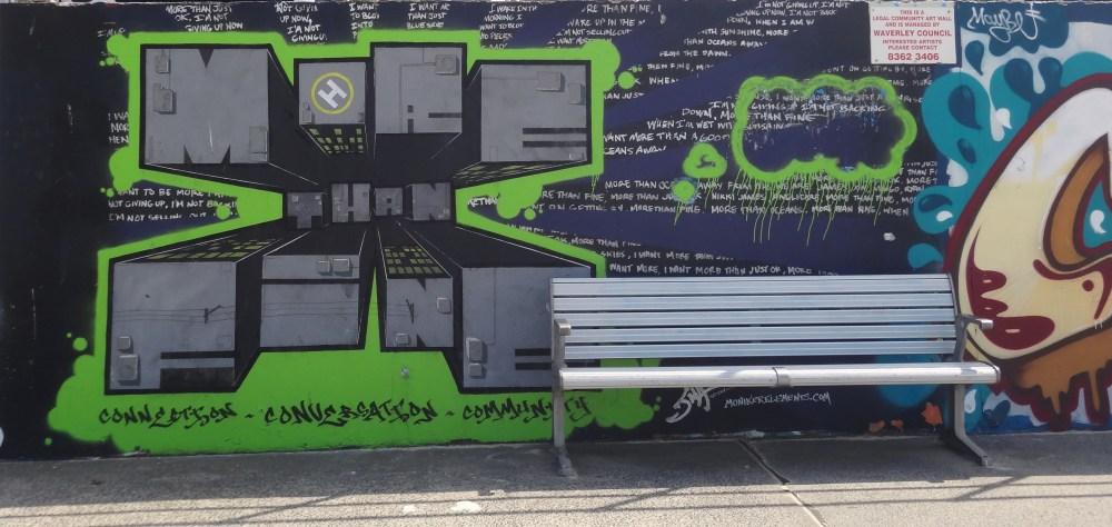 Graffiti Art at Bondi Beach, Australia (3/6)