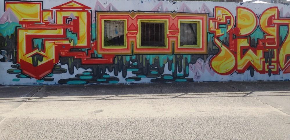 Graffiti Art at Bondi Beach, Australia (4/6)