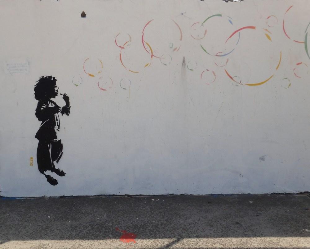 Graffiti Art at Bondi Beach, Australia (6/6)