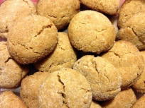 spicy ginger crinkle cookies