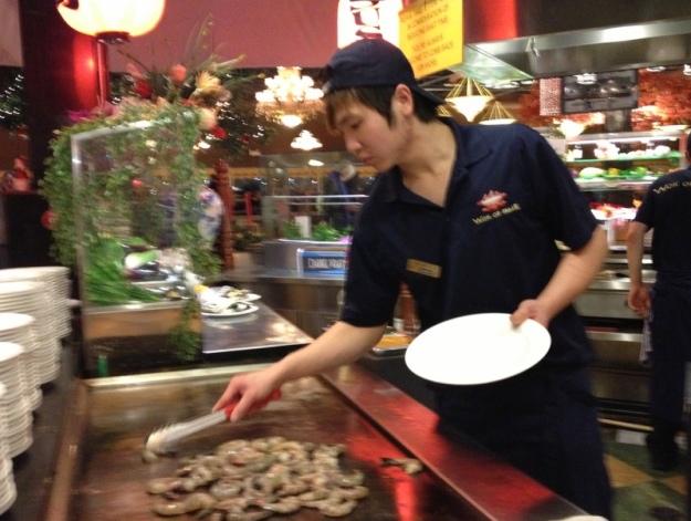 Tapanyaki Shrimps