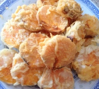Tampura Sweet Potatoes