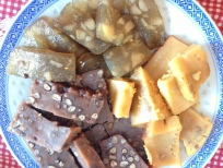 Assortment of Sweet Rice Cakes