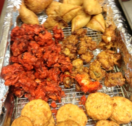 Samosa, Pakora and Tikki